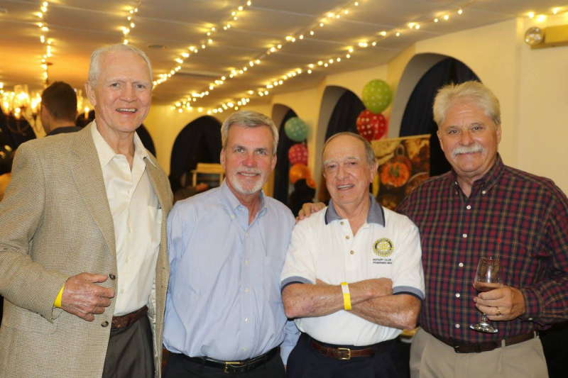 Rotarian Darryl Hinkle and Friends